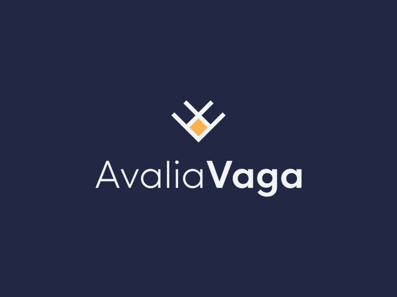 AvaliaVaga logo job branding logo handshake