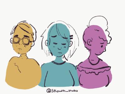 Mental Health sketch mental health illustration