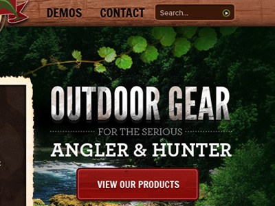 Outdoor Gear outdoors leaf wood red green brown web design button
