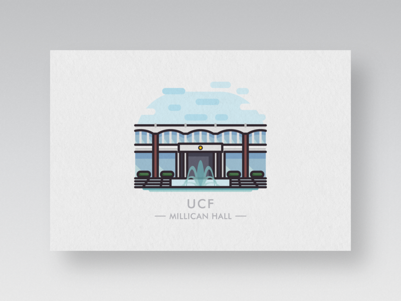 college postcards #2: ucf