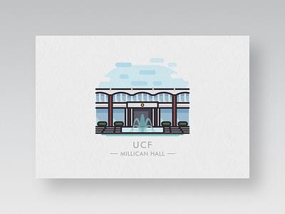 college postcards #2: ucf 2 postcard university central florida central high school college ucf qian bob bob qian