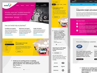 Veritek ui responsive website design web design
