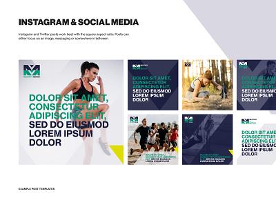 Military in Motion - Social media templates instagram template design branding