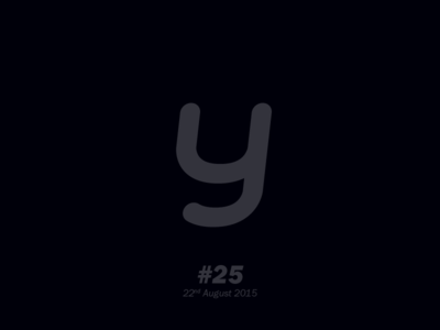 """The letter """"y"""" typography letterform aletteraday"""