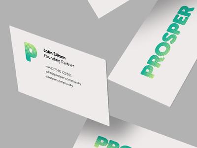 Dean hayden projects prosper dribbble prosper business cards alt version reheart Choice Image