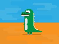 D for Dinosaur