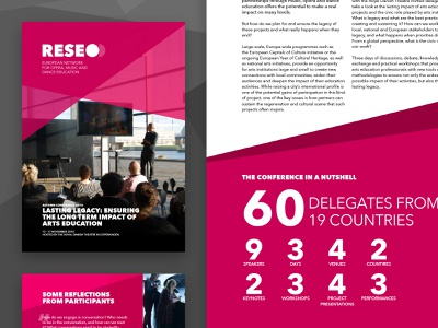 RESEO Report graphic designs print reports