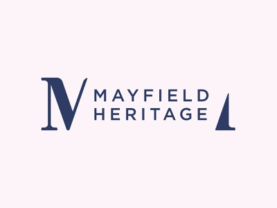 Mayfield Heritage logo branding
