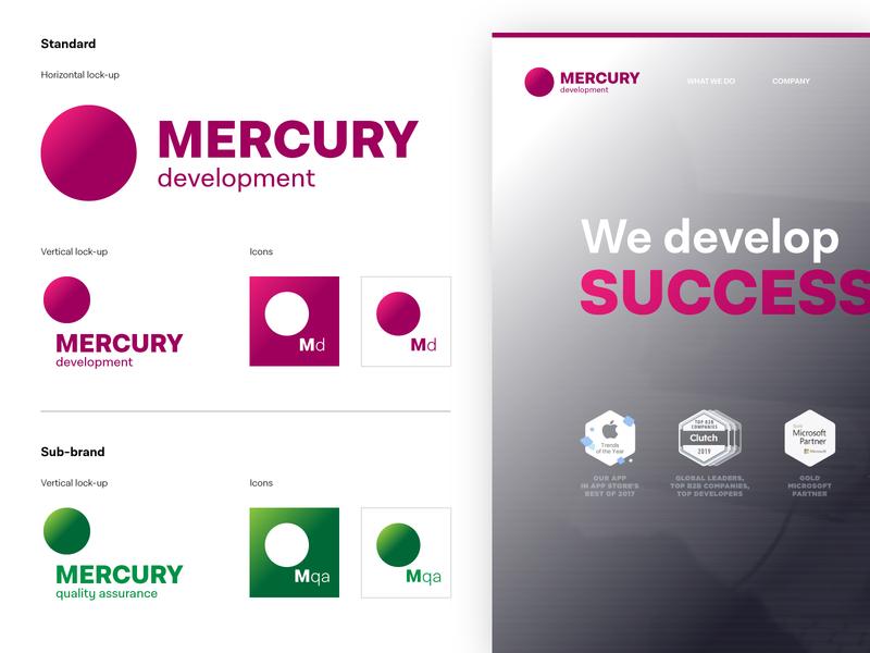 Mercury Development - Rebrand