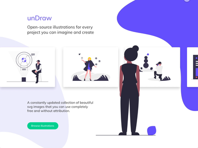 unDraw gallery