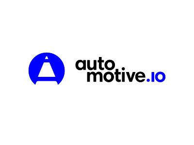 automotive.io design logo branding