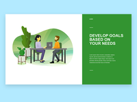 Develop Goals Based on Your Needs