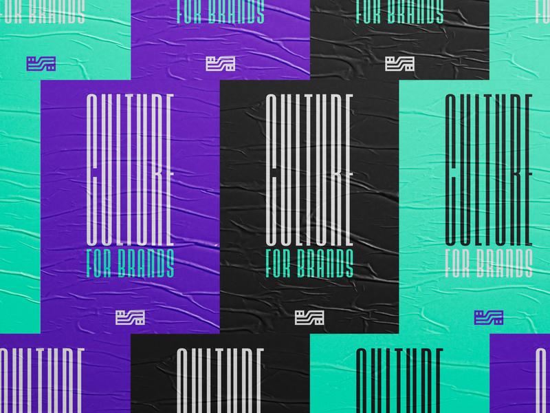 Symbio Hush typogaphy poster brand identity branding logo