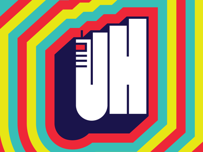 U H city color branding brand identity logo