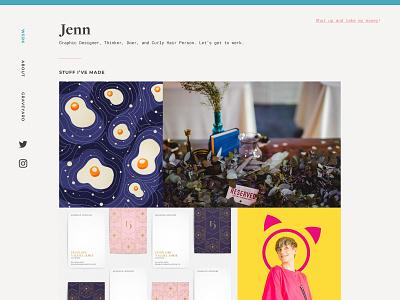 Website Redo brand identity portfolio web design