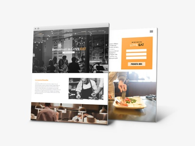 Website Restaurant Design icons bootstrap website web design logo