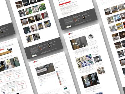 Website design presentation icons ui design logo web design
