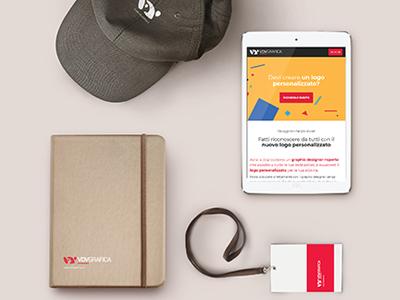 Grafica Gadget -  VdvGrafica Roma gadget identità aziendale disegno grafico logo