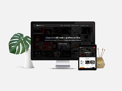 Sito Web Responsive - VdvGrafica Roma logo ui design graphic design responsive design web design