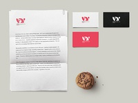 Corporate Identity - Vdvgrafica Roma logo design corporate identity graphic design logo