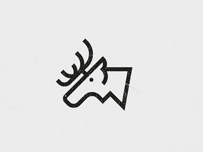 Moose travel alaska reindeer moose icon