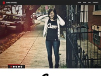 Cure Apparel Site v2