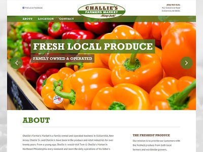 Challies Site produce web responsive continuous