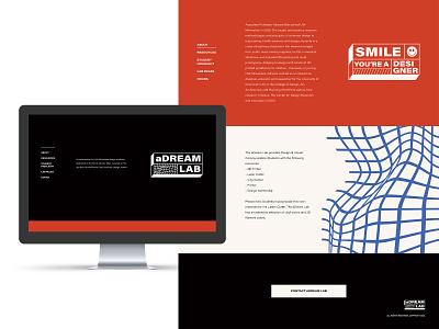 Adream Lab Web Design xd branding web design