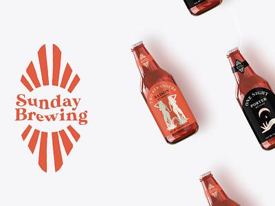 Sunday Brewing Logo & Packaging