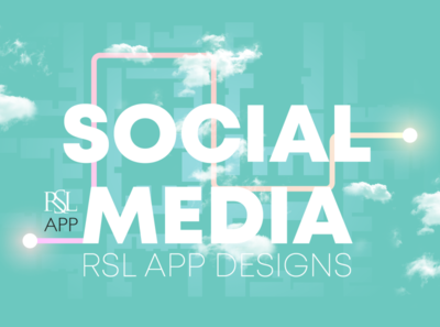 Social Media Designs For RSL APP AUE
