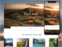 Vois le monde - UI Website
