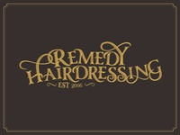 Remedy Hairdressing Logo