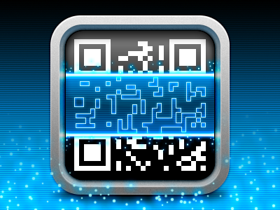 QR Scanner app icon qr scanner app icon ios iphone ipad code