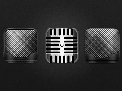 May - Voice memos metal chrome may icon icons iphone app microphone voice memo