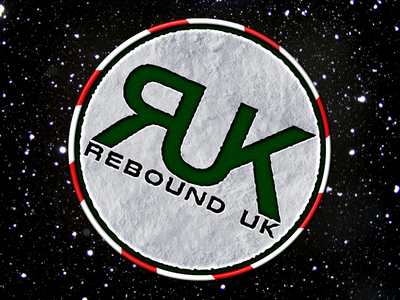 Rebound UK xmas'y logo logo