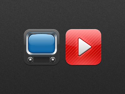 Natal - Youtube icons natal youtube icon icons app ios iphone ipod tv television play