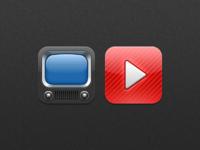 Natal - Youtube icons