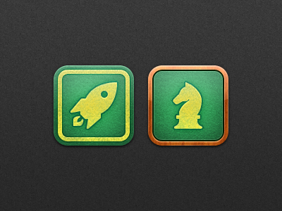 Natal - Game Center game center icons icon ios app rocket horse iphone ipod natal