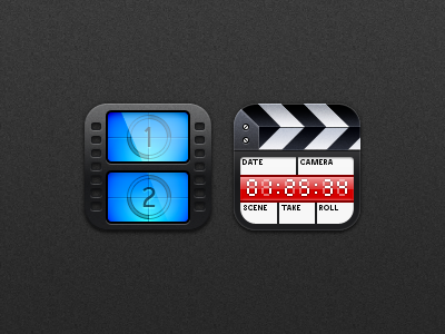 Natal - Videos natal videos icon ios app clapper board film reel movie iphone ipod