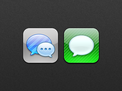 Natal - Messages natal messages imessage ios app icon icons speech bubble iphone ipod ipad