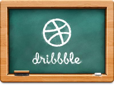 Chalkboard chalkboard dribbble practice