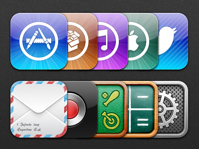 Natal - Update 2 natal appstore ios icons iphone ipod ipad twitter settings mail record voice memo apple store itunes cydia game center calculator chalkboard