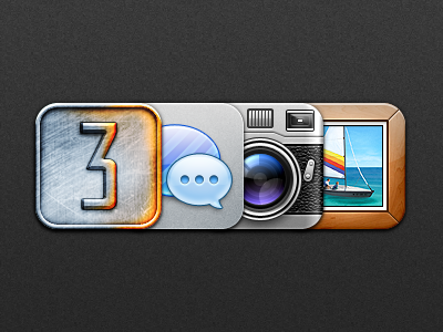 Natal - Update 3 battlefield 3 bf3 dogtag sms messages camera leica photos frame natal iphone ipod ios app icon icons