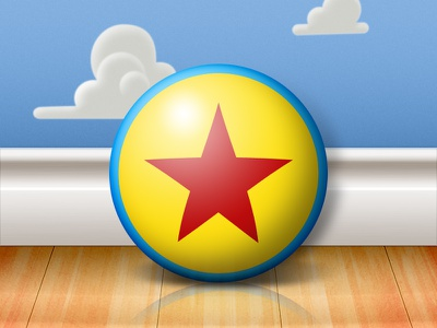 Luxo Ball luxo ball toy story practice andys room wood clouds wallpaper pixar