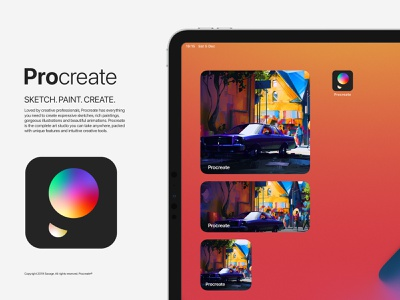 Procreate Icon Redesign
