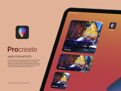 Procreate App Icon Redesign