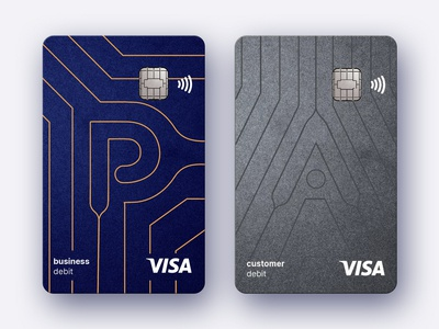 Card branding for fintech company