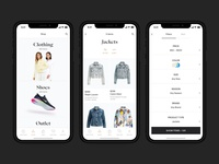 Fashion app catalog