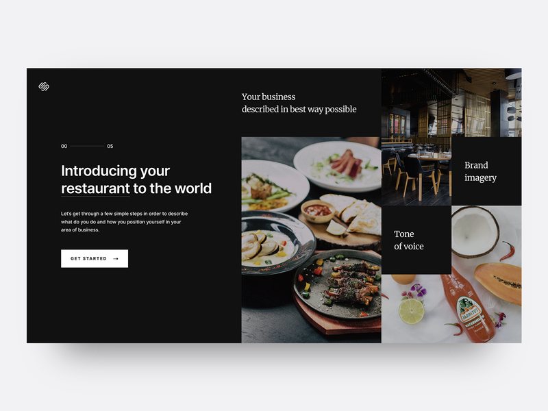 Squarespace – website creation process onboarding squarespace