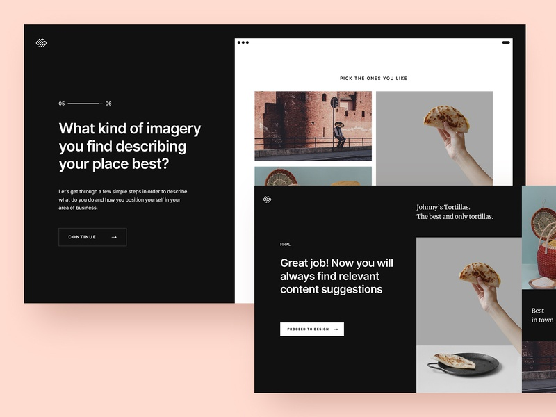 Squarespace – website creation process squarespace onboarding